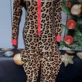 Вау! Класснючий лёгенький хлопковый слип , кигуруми, пижама размер S