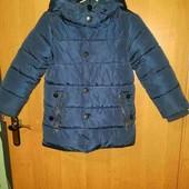 Теплющая зимняя куртка для мальчика!