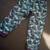 Пижамные штаны на 7-8 лет