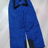 Яркие лыжные штаны фирмы Crane,на 11-12лет,при росте 152см.
