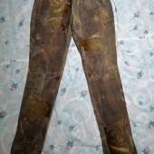 Нарядные брюки с блёстками. 38. Читайте описание!