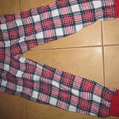 тёплые байковые штаны от пижамы Читайте замеры