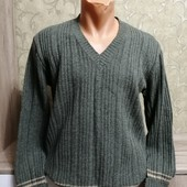 Собираем лоты!! Мужской шерстяной свитер, размер 42