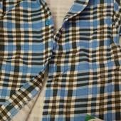 Рубашка байковая на мальчика 80 - 110 р. Украина
