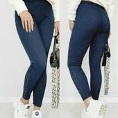 Женские лосины под джинсы. размер 42-46.