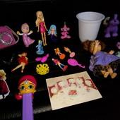 Куклы, маша, киндеры, разные, пони, аксессуары, Лот все что на фото!игрушки