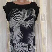 платье туника  шелк + вискоза