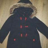 Тёплое пальто на синтепона на рост 116 см