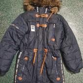 Куртка,парка,пальто на рост 140