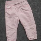 Теплые штаны на флисе Baby clab от c&a Германия р.92.