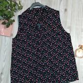 Рубашка из вискозы в классный принт р-р 20