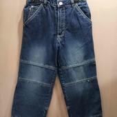 TCM прямые джинсы на подкладке для полного мальчика 110-116 см
