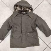 Парка, куртка, евро зима пост 128 7-8 лет.
