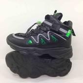 Шикарные тёплые хайтопы, кроссовки на осень, деми ботинки на мальчика 32 и 34 размер