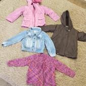 пакет вещей на девочку с 1 до 3 лет