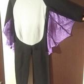 Флисовый костюмчик летучей мыши, птички
