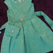 ЛОТ!!Платье для принцессы + подарочек
