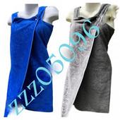 Качественные полотенца - халаты. 140х85 см с петелькой. Тиснение - узор розы.