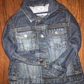 Джинсовая куртка, ветровка, пиджак на мальчика 2 годика
