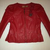 Куртка ЭКО кожа 8-9л