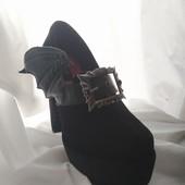 Туфли Halloween с крыльями летучей мышки