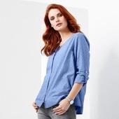 Невесомая женская блуза 44р евро(50-52р наш) Tcm Tchibo Германия смотрите замеры
