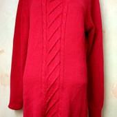 Удлиненный свитер размер М