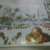 Цветные схемы для вышивания крестиком.8 схем