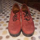 Замшевые ботинки, Турция.