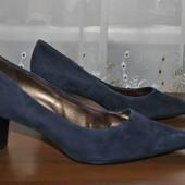 Натуральная кожа замш туфли бренда Piter Kliser(PK) р41 ст27.5 см.