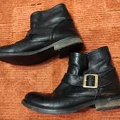 Натуральная кожа, ботинки 37р
