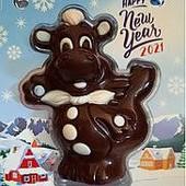 Готовим подарочки)Шоколадная сладкая веселая коровка)Символ года!