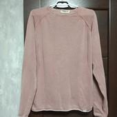 Фирменный коттоновый свитерок в хорошем состоянии р.16