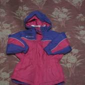 Куртка для девочки демисезонная р.104-110