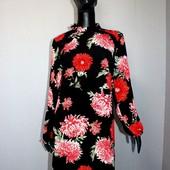 Качество! Красивое свободное платье в цветочный принт от Atmosphere, новое состояние