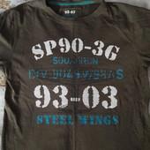 Супер футболка на 8-10 лет смотрите замеры