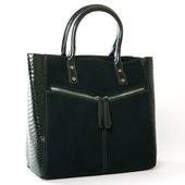 Акционная цена!!! Стильная замшевая кожаная сумка от Alex Rai