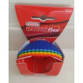 Качественная форма для кекса маффина силиконовая 6 шт Kaiser