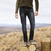 Классные мужские джинсы slim fit Livergy Германия размер 50 (34/34)