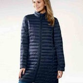 Esmara лёгкое стеганное пальто осень весна 36 S