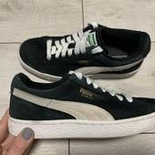 Замшевые кроссовки Puma 36 размер стелька 22 , 5 см