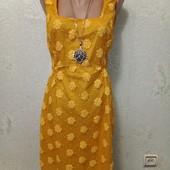 Шикарное нарядное яркое ажурное платье Новое с биркой р.8 Акция читайте