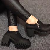 Демисезонные туфли\ботинки для Золушки 36 размер на ногу до 23 см Цена ниже закупки