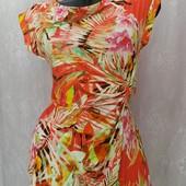 трикотажная блуза -вискоза