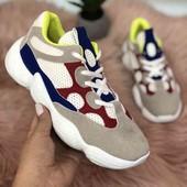 Стильные кроссовки. 36-40 р.