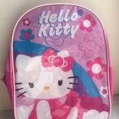 Рюкзак Hello Kitty с капюшоном !!!Sanrio!!!