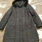 Куртка осень - зима в идеальном состоянии, натуральный мех. Размер 50-52