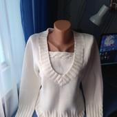 Симпатичный женский свитерок, р.L(48-50)