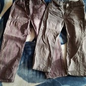 Две пары штанишек одним лотом !