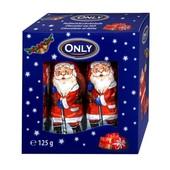 Австрия. 10 штук Молочный шоколад -фигурки Дед Мороз santa clauses only 125 грамм